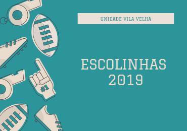 Confira o calendário de aulas das Escolinhas 2019 na unidade Vila Velha