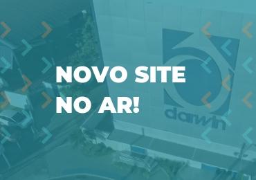 Darwin apresenta novo site mais moderno e atrativo