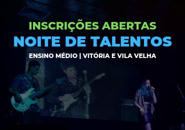 Inscrições abertas para a Noite de Talentos 2019