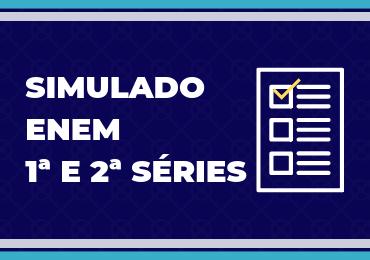 Ensino Médio: 1º Simulado Enem será de 9 a 12 de julho