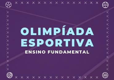 Olimpíada Esportiva anima o Fundamental II a partir de setembro
