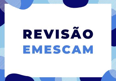 Revisão para o Vest-Emescam 2020/1