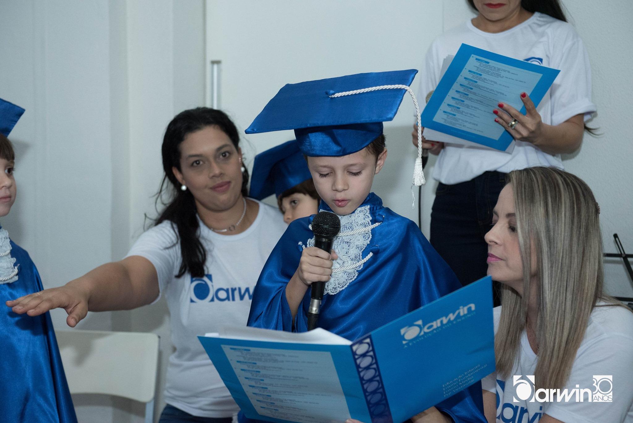 Formatura da Educação Infantil emociona famílias