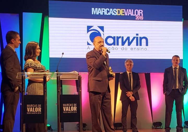 Darwin recebe prêmio Marcas de Valor 2019