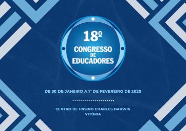 Confira a programação do 18º Congresso de Educadores Darwin