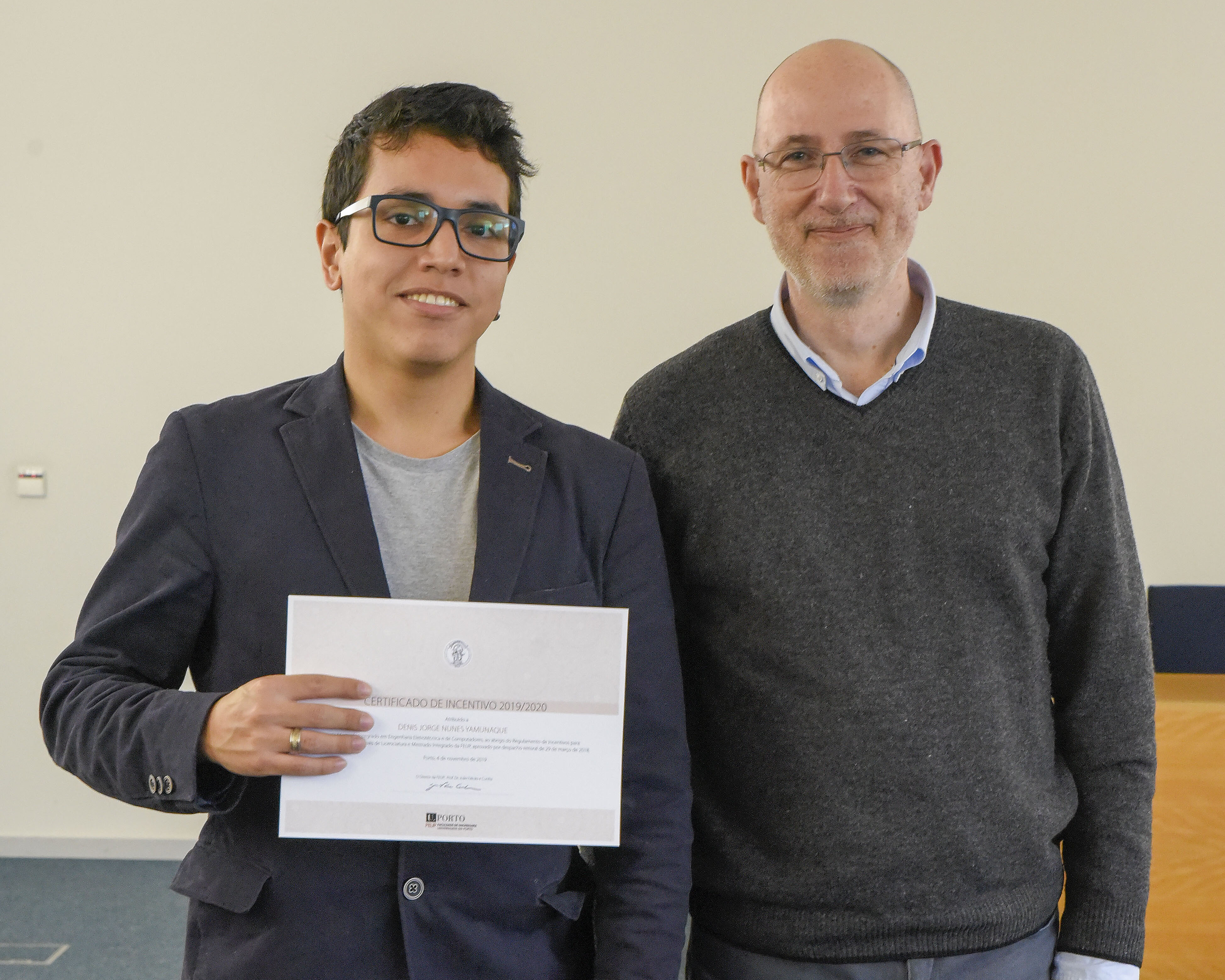 Ex-aluno Darwin fica entre os melhores na Universidade do Porto