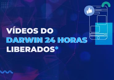 Vídeos do Darwin 24 Horas disponíveis para alunos do Ensino Médio e do Pré-Vestibular