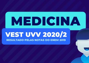UVV 2020/2: 2º Lugar Geral de Medicina é do Darwin