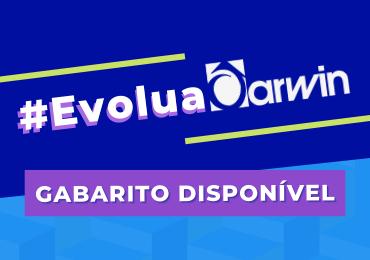 Gabarito do #EvoluaDarwin está disponível para consulta