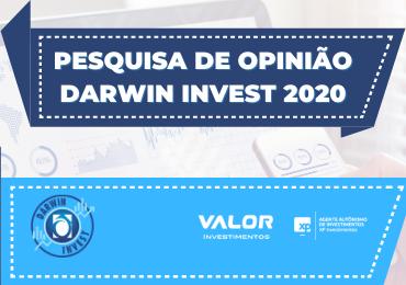 Alunos da 2ª série participam da pesquisa on-line do Darwin Invest