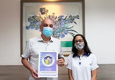 Darwin recebe selo de parceria do Instituto Ponte