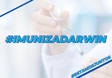 100% dos colaboradores e professores receberam a 1ª dose da vacina contra COVID-19!