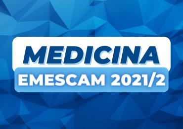 Emescam 2021/2: Darwin conquista 1º lugar em Medicina